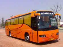 40 Seater- Volvo Coach/Bus On Hire In India