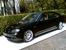 BMW 7 - Series Cab On Hire In India