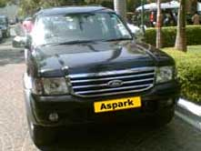 Ford Endeavour Cab On Hire In India