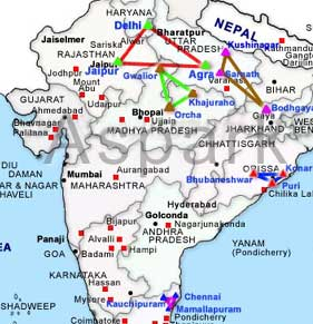 Classical Golden Triangle Tour Classical Golden Triangle Tours